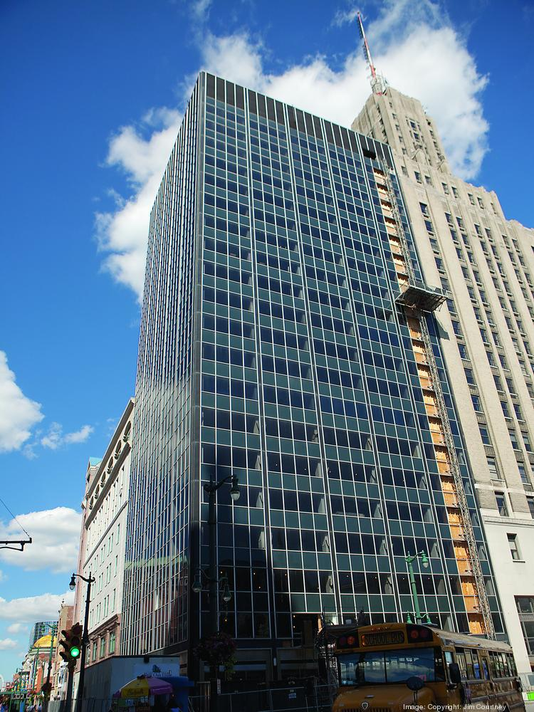 The Hamister Group is investing $42 million to reconfigure the 20-story building that will be anchored by a 124-room Hilton Garden Inn hotel.