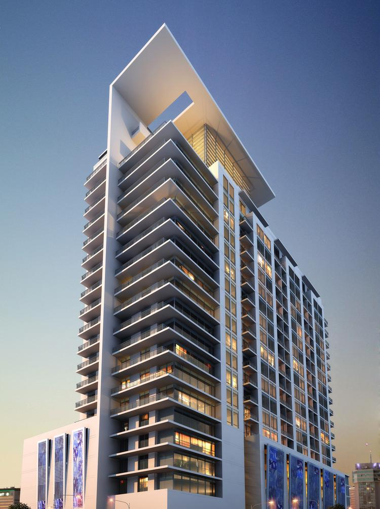Construction is expected to start by year's end on the 23-story, $42 million Citi Tower apartment complex in downtown Orlando.