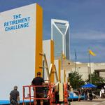 Prudential topples world record with retirement dominos in Charlotte (Video)