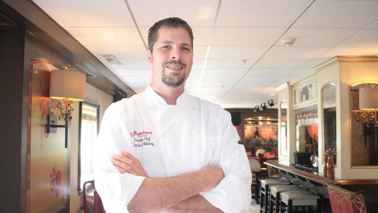 Charles d'Ablaing, executive chef at Chaz on the Plaza