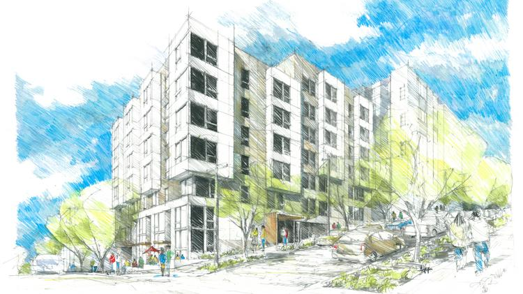 Tensions over a property in Seattle's Central District are rising. The city may condemn the site where a developer is planning this apartment project.