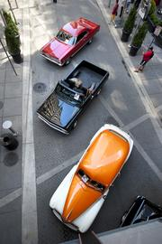 Classic Cars were part of the Hometown Tourist event at Fourth Street Live.