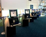 The new United States customs clearance kiosks to be installed at O'Hare Airport were developed by the Vancouver Airport Authority.