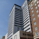 Two new tenants, renewal secured for 125 N. Market