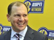 Justin Connolly, ESPN senior VP for programming for college sports, led the network launch here