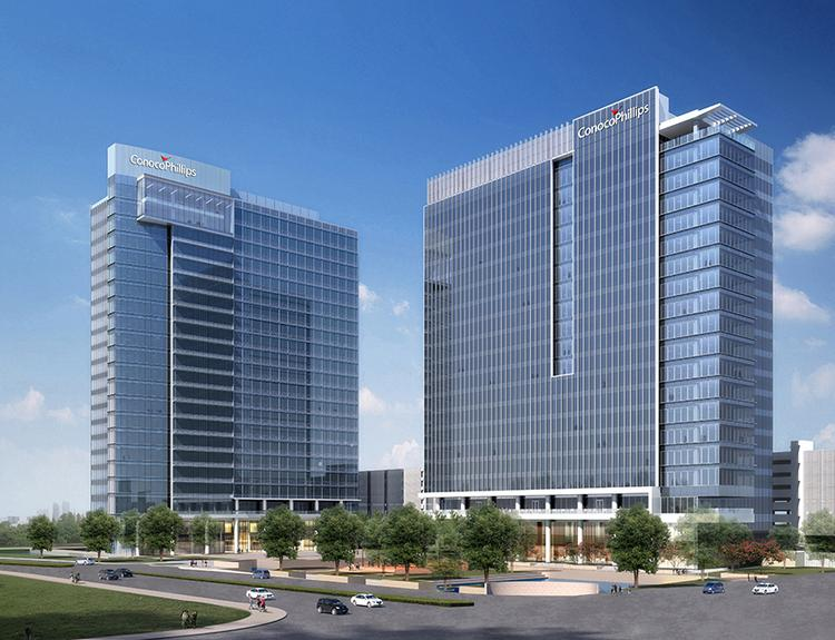 ConocoPhillips has preleased 1.2 million square feet for all of Energy Center Three and Energy Center Four, both of which are underway.