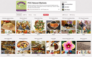 PCC's Pinterest page offers a variety of boards ranging from how-to cooking videos to gardening tips and holiday recipes for its customer to view and share on their own accounts.
