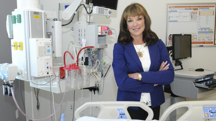 Laurie Harting, chief of operations, Dignity Health Greater Sacramento