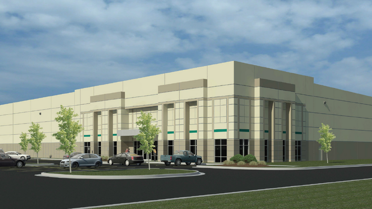 Construction started in July on Beltway Commerce Center Building 600, a 124,478-square-foot warehouse in southeast Orlando.