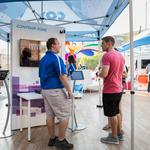 Cox demonstrates future 1-gig speeds at exhibit outside Chase Field (Video)