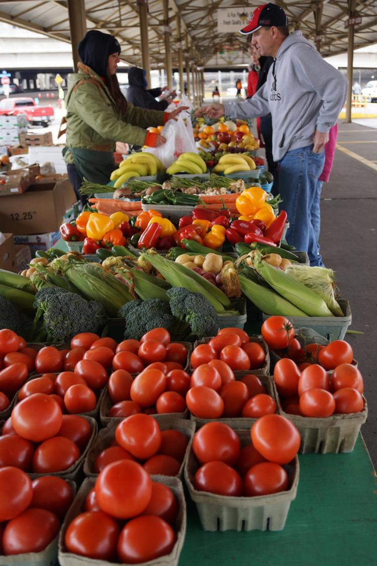 The farmers market will run every Thursday from 8 a.m. until 1 p.m. through Aug. 29 at Palladio at Broadstone in Folsom.