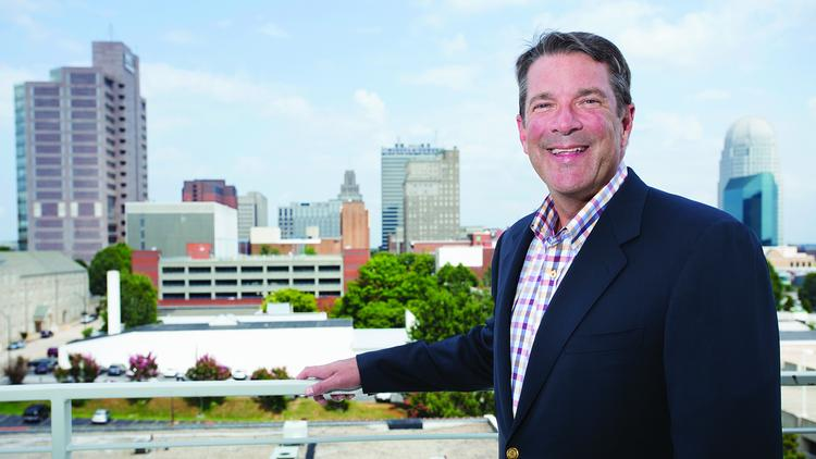 John Reece, managing partner of Commercial Realty Advisors, has been a longtime fixture in the real estate industry in his native city of Winston-Salem.