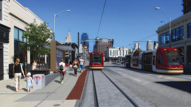 A swath of Kansas City voters rejected the formation of a new taxing district that would have allowed the city to start planning to add 7.8 miles to its under-construction 2.2-mile Main Street streetcar line.