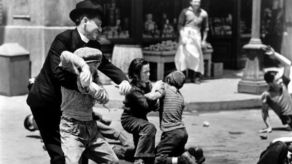 """Rough-and-tumble worked for Fr. Edward Flanagan, portrayed in the movie """"Boys Town"""" by Spencer Tracy. But the University of San Francisco's new president, Fr. Paul Fitzgerald, takes a more measured approach to education."""