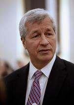 JPMorgan Chase posts first quarterly loss under <strong>Dimon</strong>