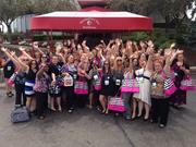 Montgomery Inn Boathouse hosted 600 Pure Romance consultants for lunch.