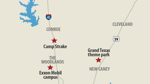 Camp Strake will be transformed into a mixed-use development in an area with a lot of activity.