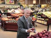 Joe Bell, manager of marketing and public affairs for Kroger's Delta Division, says consolidation changed local competition in the grocery business.