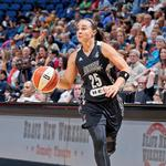 Becky Hammon will be a star off the court in new campaign