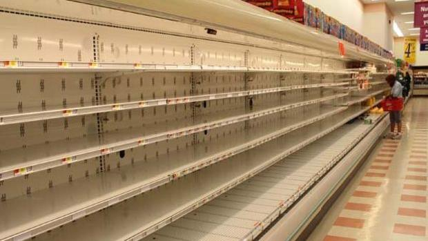 Empty aisles: Worker protests have disrupted deliveries and operations at Market Basket stores throughout Massachusetts.