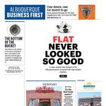 In this week's issue: flat never looked so good