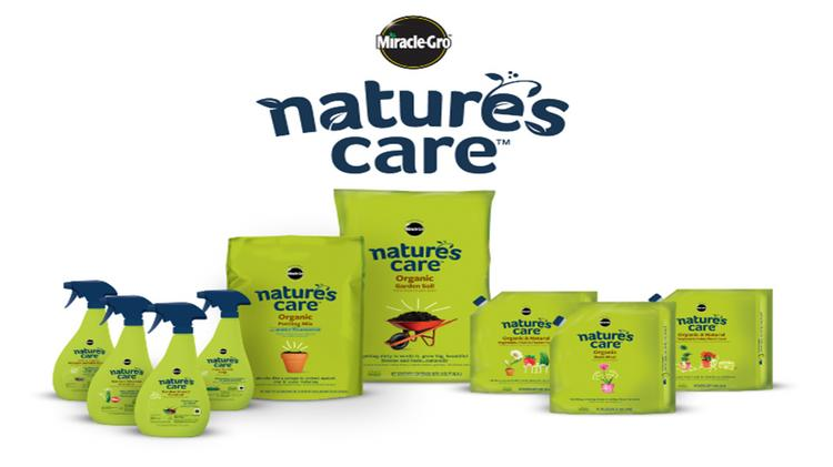 Scotts' new Nature's Care organic line will be the focus over the company's established Organic Choice brand.