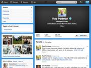 Senator Rob Portman @robportman  29,109 Followers.  https://twitter.com/robportman   - Sen. Rob Portman tweets about his personal life, Ohio jobs issues, anti-drug abuse efforts and other political issues.