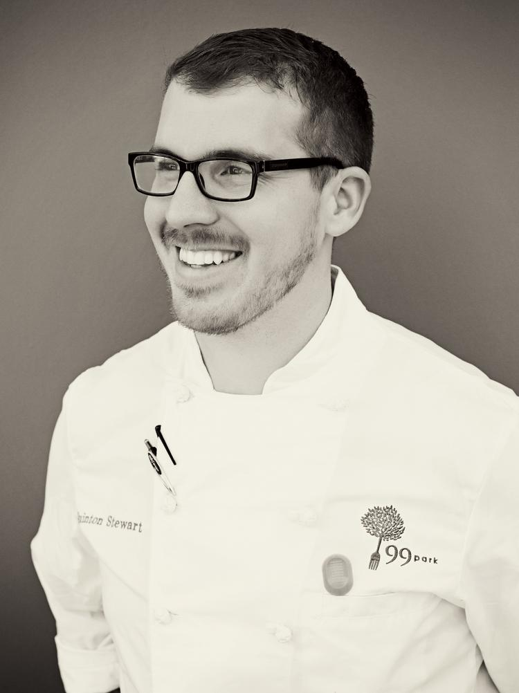 Quinton Stewart, executive chef at 99 Park, has worked with several of Seattle's and New York City's top chefs.