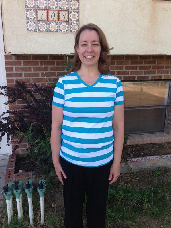 Deborah Miller has lost 80 pounds since undergoing gastric sleeve surgery. The following photo was taken before the surgery.