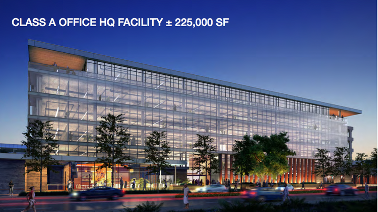Lot 11 at Santana Row: 225,000 square feet of office, and a whole lot of glass.