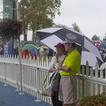 Soggy Saturday doesn't deter spectators from attending PGA Championship