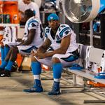 Greg Hardy off field for now for Carolina Panthers