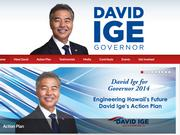 Hawaii state Sen. David Ige grabbed a large lead over incument Gov. Neil Abercrombie in the early returns from the Democratic primary to win the nomination for the November general election.