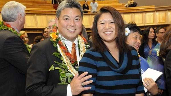 State Rep. Mark Takai, seen in this 2013 file photo with his wife, Sami, won the Democratic primary for Hawaii's 1st Congressional District.