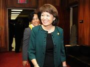 Hawaii Senate President Donna Mercado Kim, seen in this 2014 file photo, finished second in a seven-way Democratic primary for the 1st Congressional District. Kim has two more years left on her Senate term.