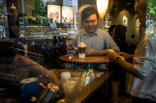 Starbucks plans to unstoppered a positioning in the Duke Energy Center in uptown Charlotte.