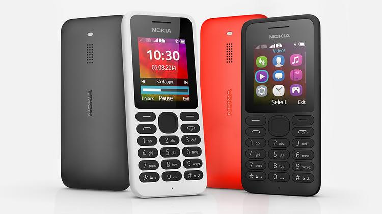 Microsoft's inexpensive ($25) Nokia 130 phone will be available in selected markets.