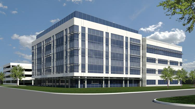 The 96,000-square-foot, four-story, Class A speculative office building is slated to break ground in December.