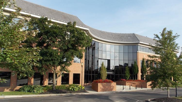 The 119,000-square-foot property at 7965 N. High St. known as Northwoods I has been sold.
