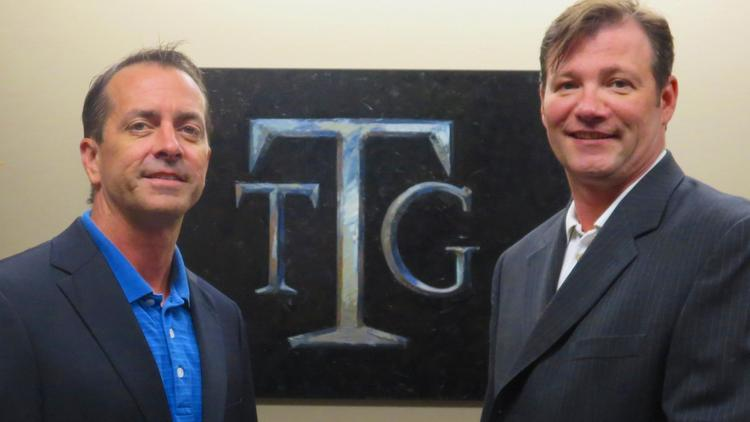 Managing Partners at The Talance Group Doug Hubbard, left, and Stephan Patsch, right, have landed the company on HBJ's Fast 100 List for a second consecutive year.