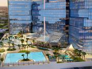"""The planned 729-room, """"7-star"""" hotel at iSquare Mall + Hotel is expected to include a rooftop pool and amenities deck."""