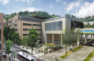 Portland State University's new business school will  add 42,000 square feet of new construction and renovations to the school's existing 52,000 square feet.