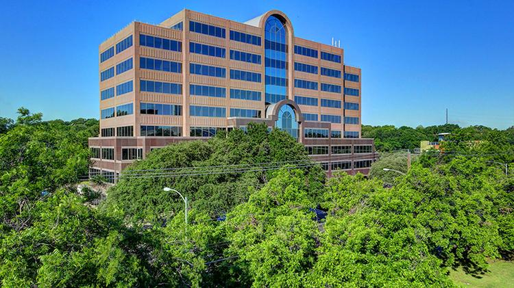 The nine-story office building just south of Lady Bird Lake was recently purchased by an entity formed by Hartford, Connecticut-based Cornerstone Real Estate Advisers.