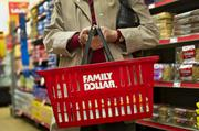 #287: Family Dollar Stores Inc.  HQ: Matthews $9.3 billion revenue  +14 spots on Fortune 500  Family Dollar (NYSE:FDO) is a discount retailer with more than 7,600 stores in 45 states.