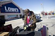 #56: Lowe's  HQ: Mooresville $50.5 billion revenue  -2 spots on Fortune 500  Lowe's (NYSE:LOW) is a home-improvement retailer with more than 1,750 stores in the U.S., Canada and Mexico.