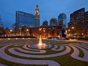 The Armenian Heritage Park on the Rose Fitzgerald Kennedy Greenway was designed by Stantec.