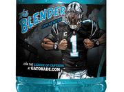 "Cam Newton appears as ""The Blender"" in the latest Gatorade campaign."