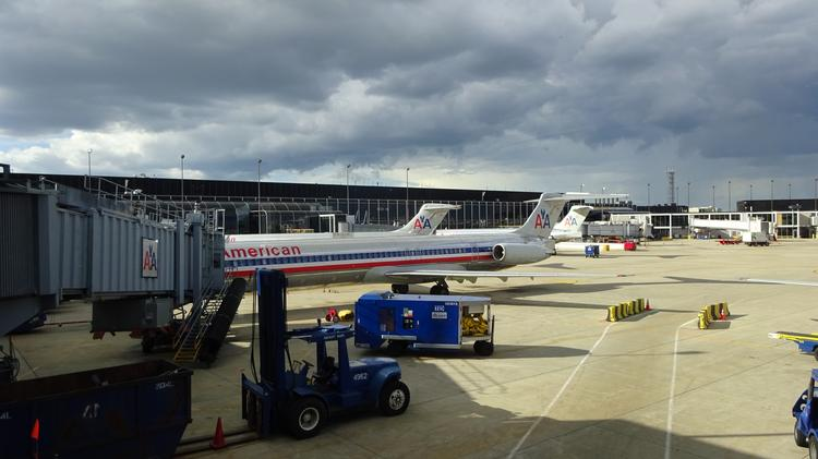 American and United airlines both maintain hubs at Chicago's O'Hare International Airport. In June, on-time arrival at O'Hare was just 59.61 percent on-time—the worst performance in the nation.
