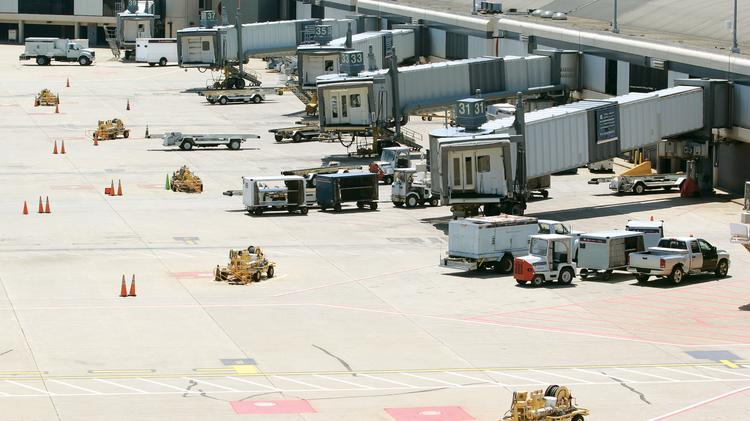 Worker hurt at Pittsburgh International Accident