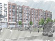 Donatelli Development Corp. submitted the only bid to redevelop a Metro-owned parcel in Capitol Heights. Here, a rendering of what it might look like.